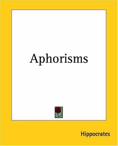 Download Aphorisms