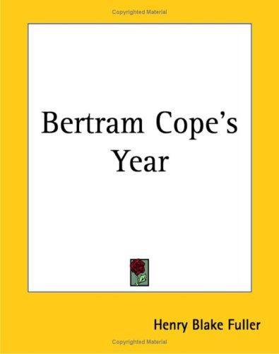 Download Bertram Cope's Year