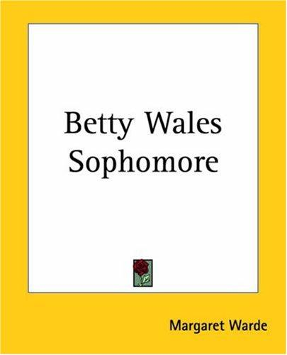 Betty Wales Sophomore