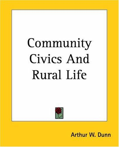 Download Community Civics And Rural Life