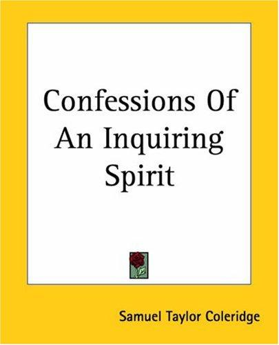 Download Confessions Of An Inquiring Spirit