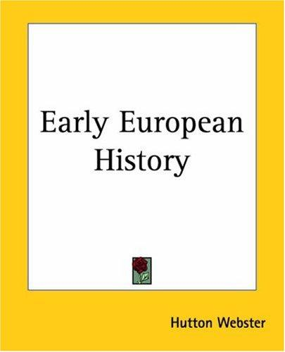 Download Early European History