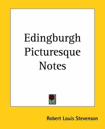 Download Edingburgh Picturesque Notes