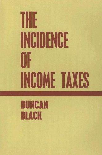 Incidence of Income Taxes