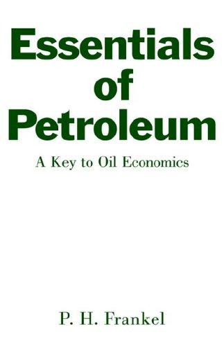 Download Essentials of petroleum