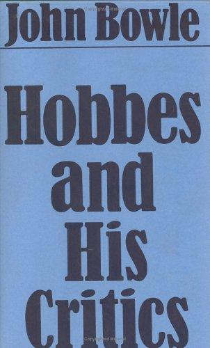 Download Hobbes and his critics