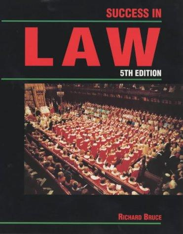 Download Success in Law (Success Studybooks)