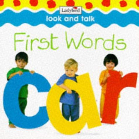 First Words (Photo Board Books)