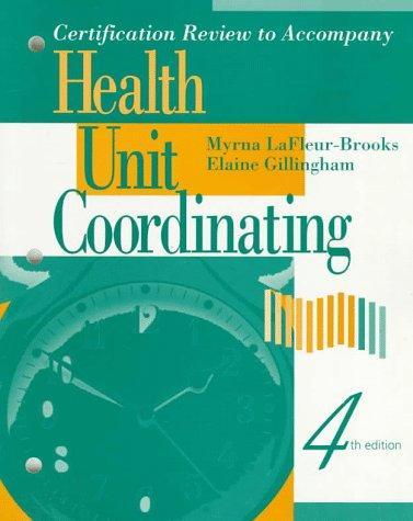 Download Certification review for health unit coordinators