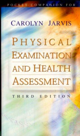 Download Pocket Companion for Physical Examination and Health Assessment