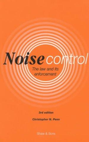 Download Noise Control