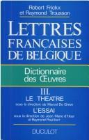 Lettres françaises de Belgique