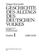 Geschichte des Alltags des deutschen Volkes.