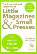Download The International Directory of Little Magazines and Small Presses