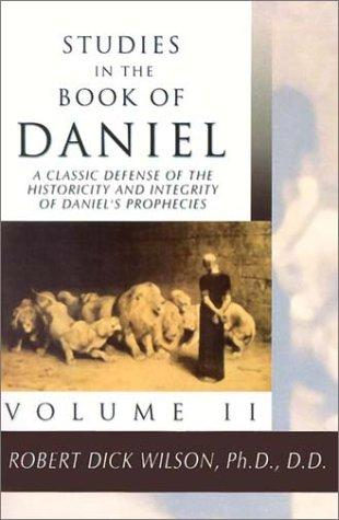Download Studies in the Book of Daniel