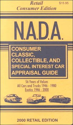 N.A.D.A. Consumer Classic, Collectible and Special Interest Car Appraisal Guide