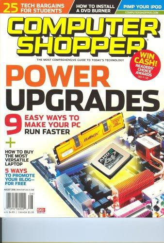 Computer Shopper, December 2006 Issue Editors Of Computer Shopper Magazine