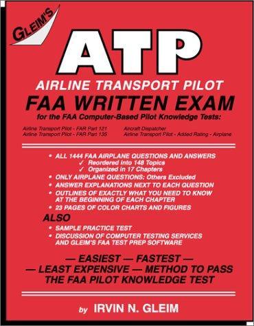 Download Airline Transport Pilot FAA Written Exam