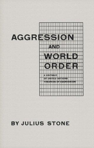 Aggression And World Order