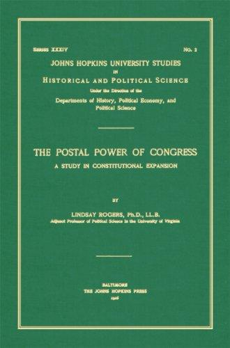 The Postal Power of Congress