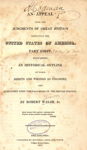 Download An appeal from the judgments of Great Britain respecting the United States of America