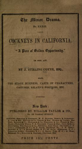 Cockneys in California