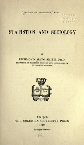 Science of statistics.
