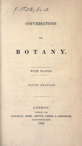 Download Conversations on botany.