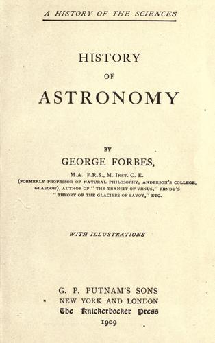 Download History of astronomy