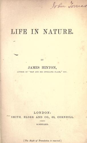 Download Life in nature