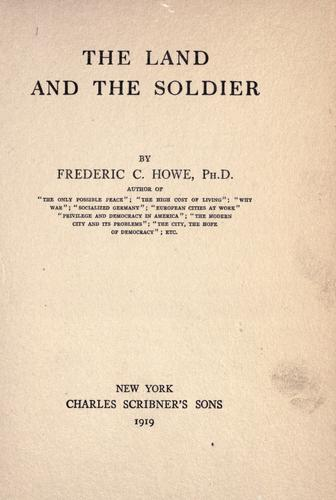 Download The land and the soldier