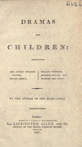 Dramas for children …