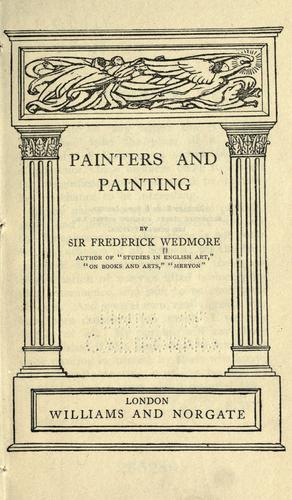 Painters and painting.