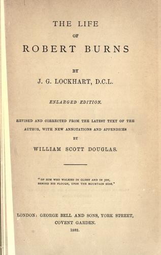 Download The life of Robert Burns.
