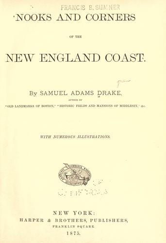 Download Nooks and corners of the New England coast