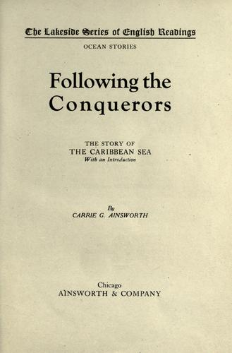 Download Following the conquerors