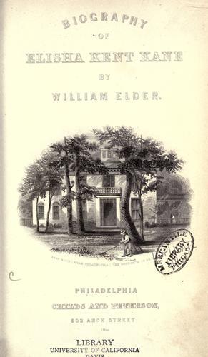 Download Biography of Elisha Kent Kane