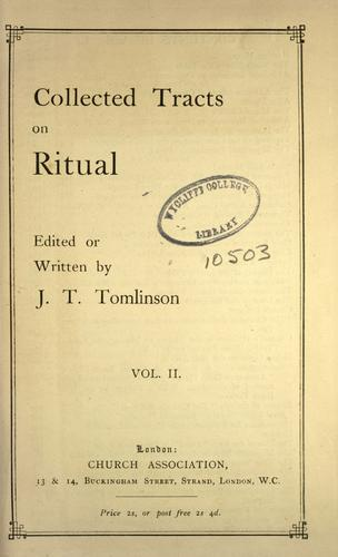 Download Collected tracts on ritual