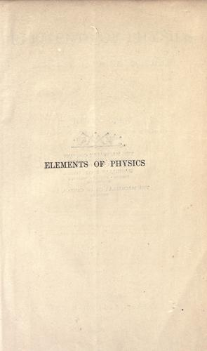 Download Elements of physics