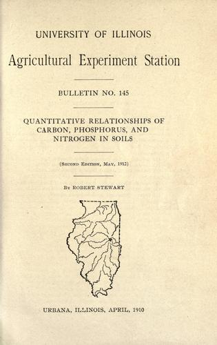 Download Quantitative relationships of carbon, phosphorus, and nitrogen in soils
