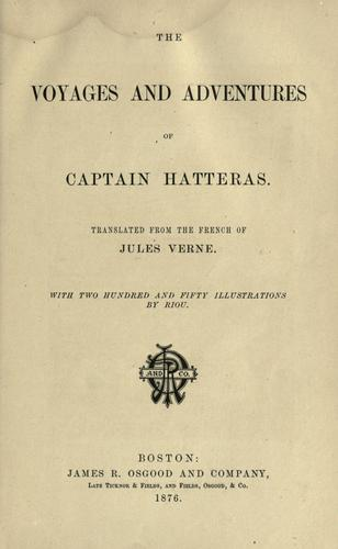 Download The voyages and adventures of Captain Hatteras