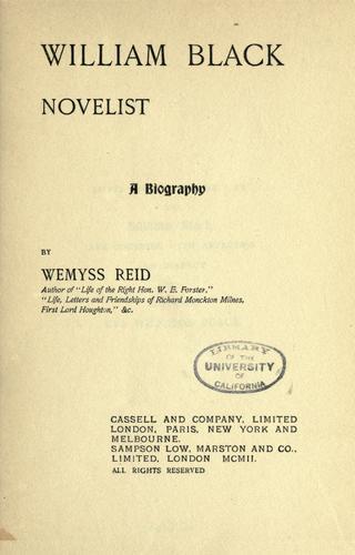 Download William Black, novelist