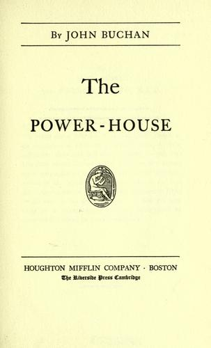 Download The power-house