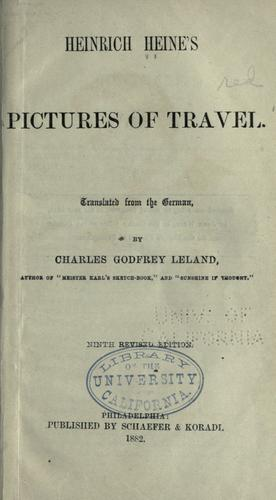 Download Heinrich Heine's pictures of travel