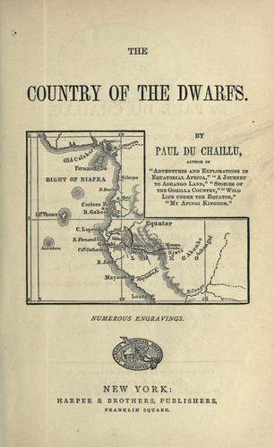 Download The country of the dwarfs.