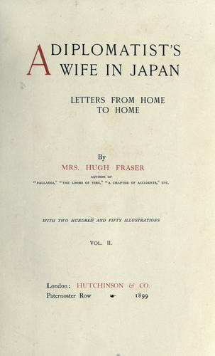 Download A diplomatist's wife in Japan