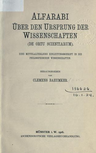 Download Über den Ursprung der Wissenschaften