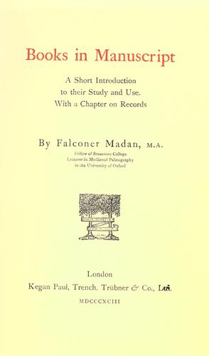 Download Books in manuscript