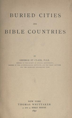 Download Buried cities and Bible countries.
