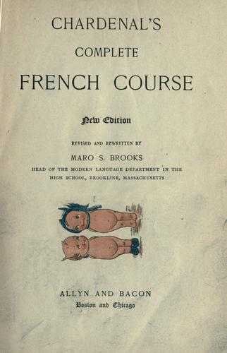 Chardenal's complete French course.